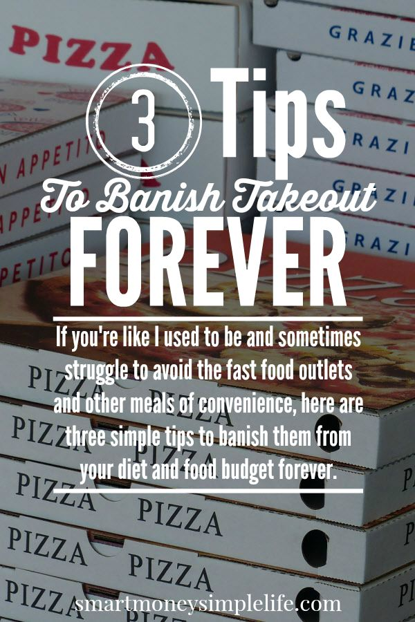 frugal living tips - save your food budget and banish takeout