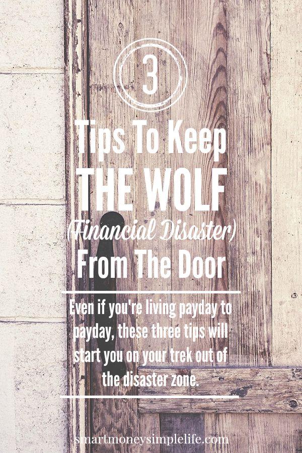 tips for avoiding financial distaster