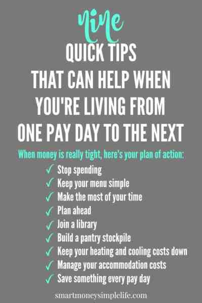 Are you living on next to nothing? Need creative ideas for spending less and living more, even when money is tight? These tips will definitely help.