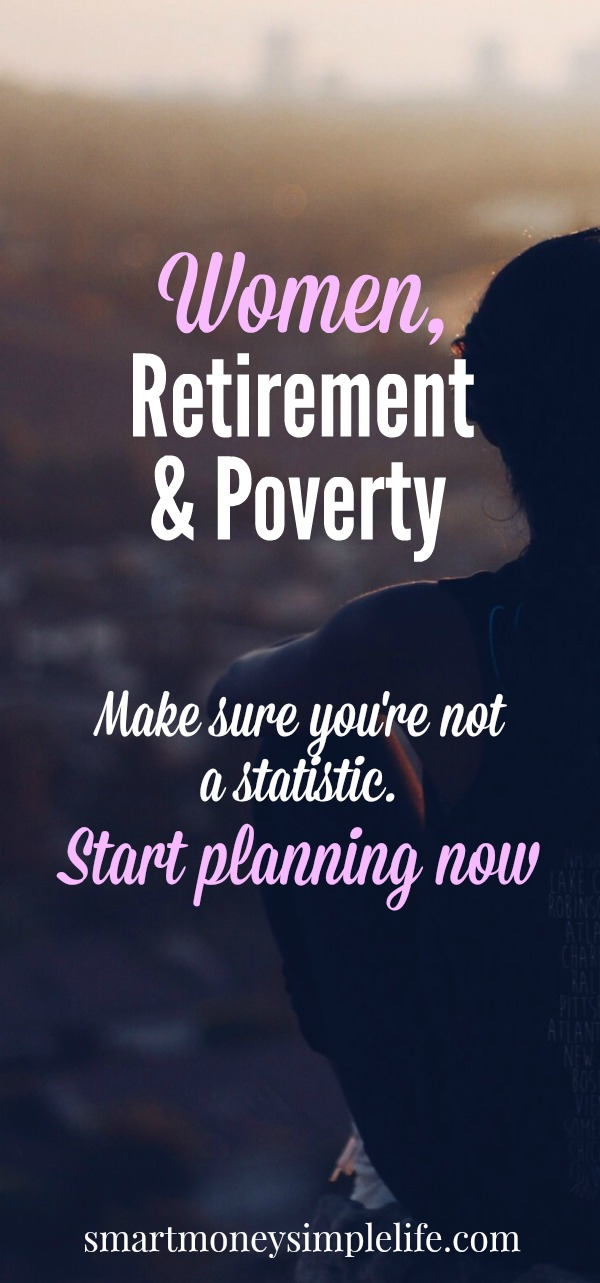 women retirement and poverty - make sure you're not a statistic