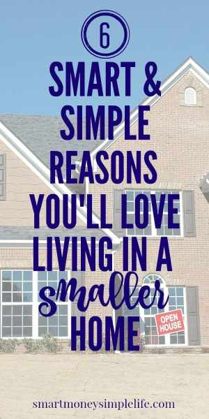 Smart and simple reasons you'll love living in a smaller home.