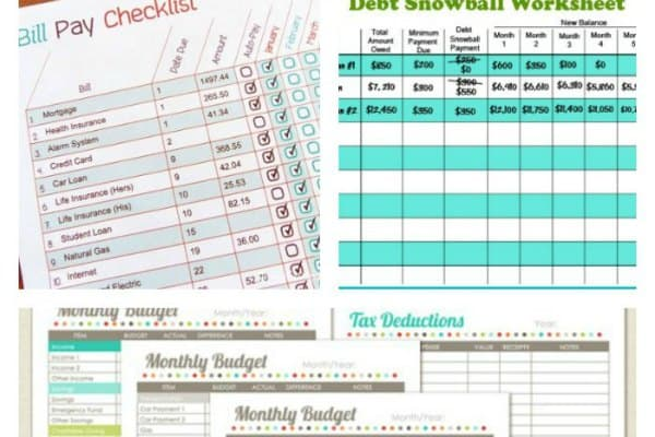 11 Free Budget Printables To Help Get Your Money Under Control ...