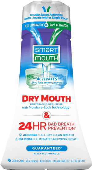 Dry Mouth Activated Oral Rinse