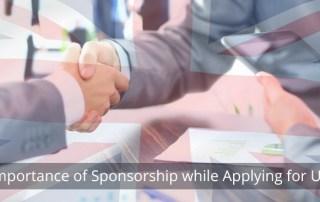 Sponsorship while applying for UK Visa