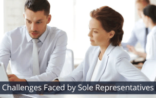 Challenges Faced by Sole Representatives