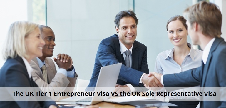 Difference between the UK Tier 1 Entrepreneur Visa and the UK Representative of Overseas Business Visa