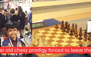 Shreyas Royal - 9 Year Old Chess Prodigy Forced to Leave the UK