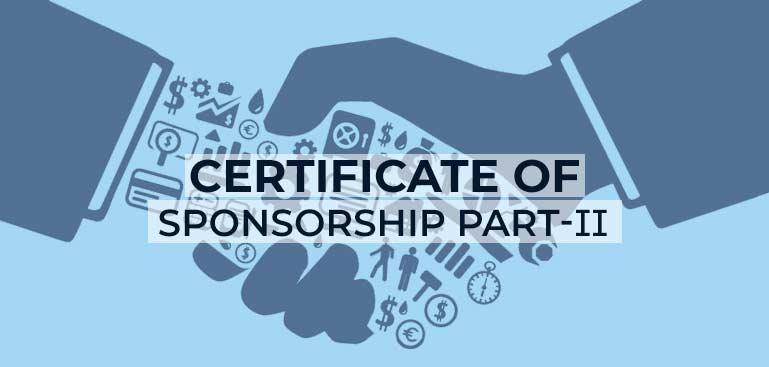UK Tier 2 Sponsor Consultant in Mumbai: Certificate of Sponsorship Part- II