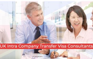 Consultants in Bangalore on UK Intra Company Transfer Visa