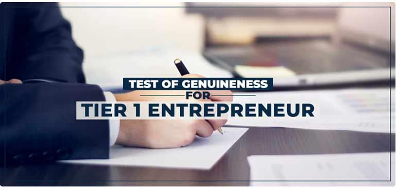 The Genuine Entrepreneur Test is the most crucial part of Tier 1 (Entrepreneur) visa application.