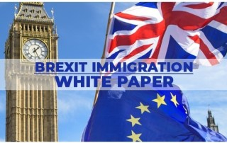May's White Paper: Brexit and Immigration