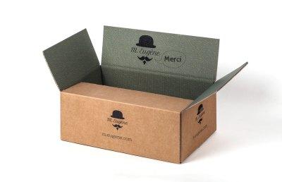 caisse carton personnalisée