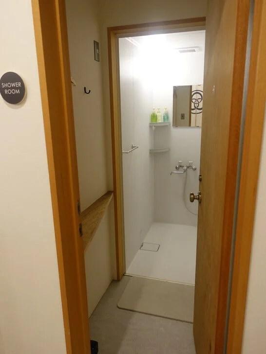 みつわ屋のシャワールームの写真