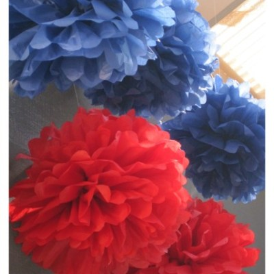 Easy Tissue Paper Pom Pom Tutorial For The Best Party Decor
