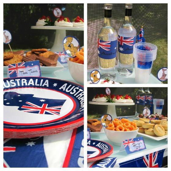 Australia Day Party Theme