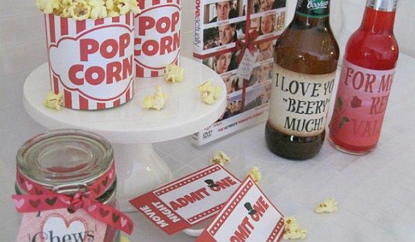 Romantic Movie Night Free Printable