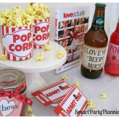 How To Plan A Movie Night With Free Printables