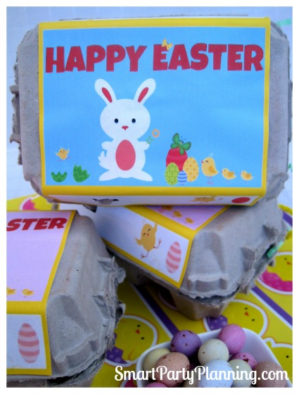 Egg Carton Easter Printables