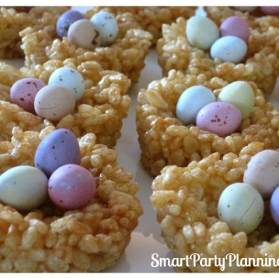 Honey Joys as Cute Easter Desserts
