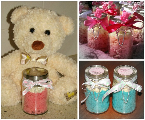 Baby Shower Cupcakes: Cupcake in a Jar