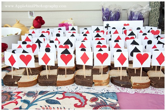 This Alice In Wonderland party is filled with DIY crafts, and set up magically in a garden. This is a quirky party theme that can be enjoyed by the young and old. Everything in the party planning has attention to detail, and will provide plenty of inspiration for your next party.