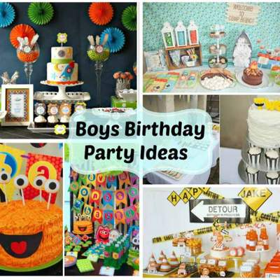 Boys Birthday Party Ideas – Weekly Roundup