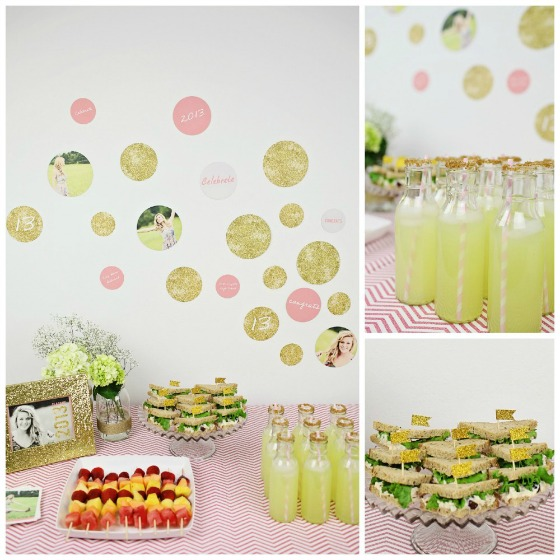 Glitzy Graduation Party Ideas