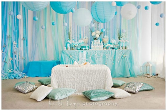Whimsical Mermaid Party