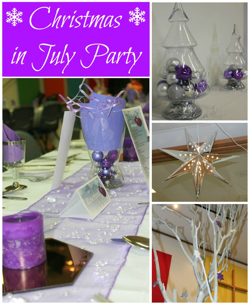 Christmas in July Party