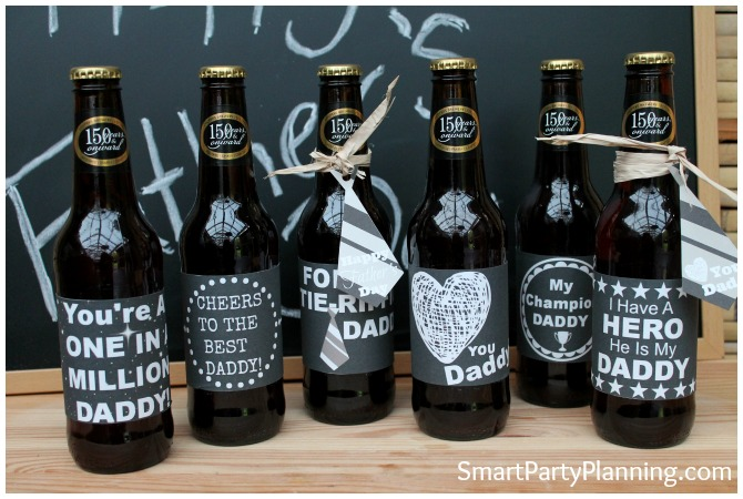 Printable Beer Labels - Chalk board range