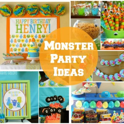 Monster Party Ideas – Weekly Roundup