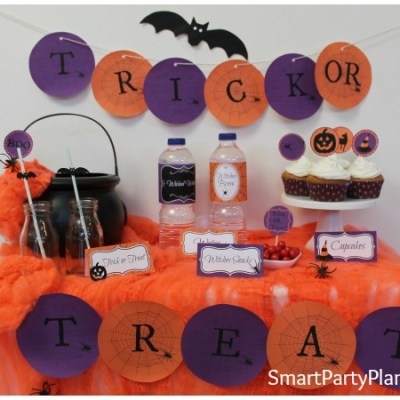 The Perfect Printable's For A Halloween Party
