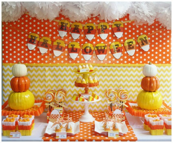 Halloween Party Themes Candy Corn