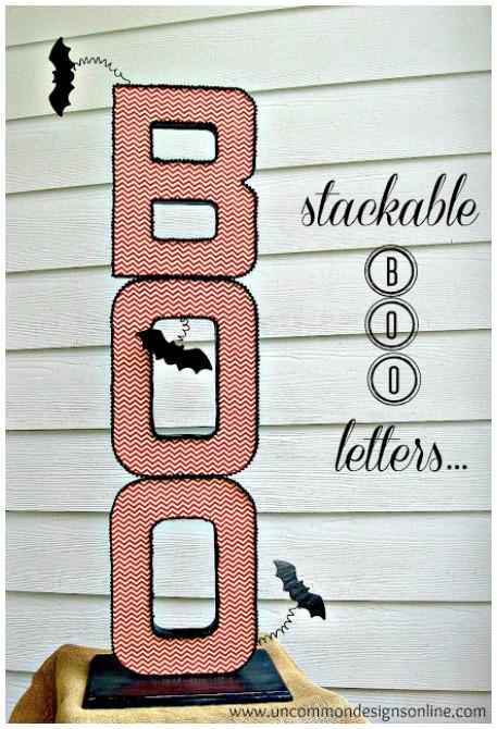 Halloween Boo Craft Sign