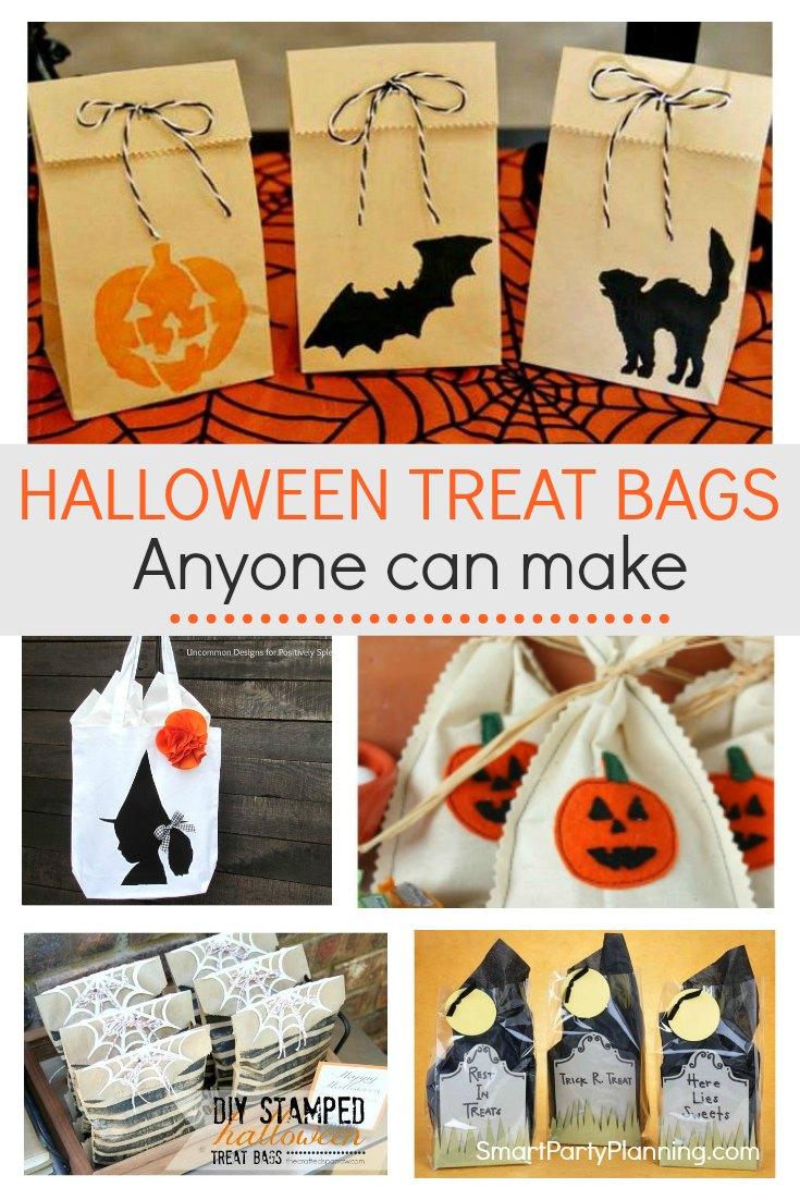 The Best DIY Halloween Treat Bags