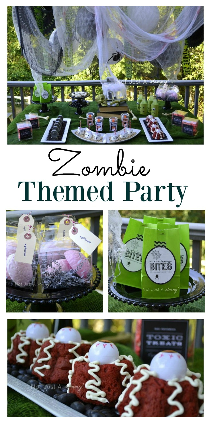 For fans of the Walking Dead. A zombie themed party could be ideal for you, especially for Halloween. With some ideas for food and decoration, the party organization could be easier than you think. #Zombie #Halloween #Themedparty #Ideas #Fun #WalkingDead