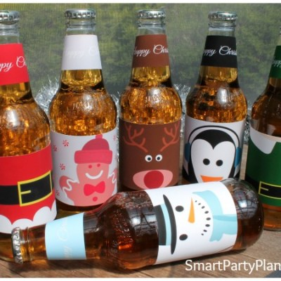 Make The Best Christmas Gift With Easy Printable Beer Labels