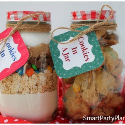 Cookies In A Jar With Free Printable