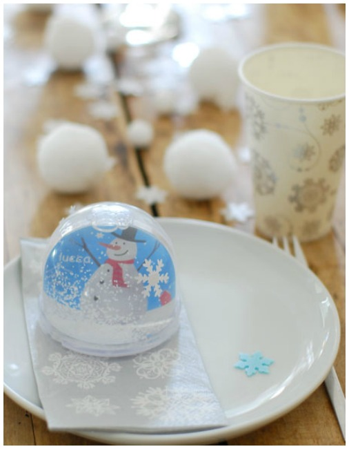 Winter wonderland snowman party ideas