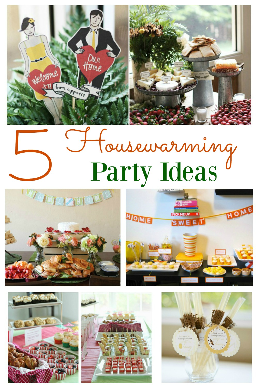 Housewarming party ideas for Home party decorations