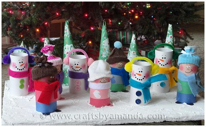 Snowmen Christmas Craft