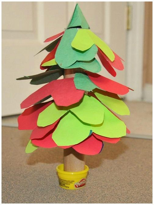 Christmas Tree Christmas Crafts For Kids