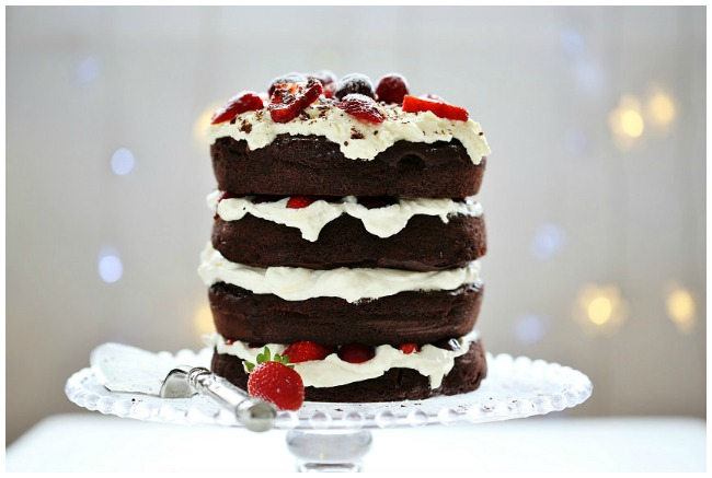 Christmas Dessert Ideas Chocolate Cake