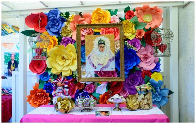Frida Kahlo Table Display