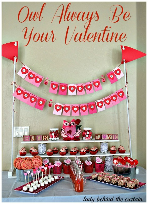 "Looking for a party that says ""I Love You""? This selection of love filled parties are perfect for your Valentine's day inspiration complete with ideas for food and decorations.  These Valentine's ideas will be making you want to hold that party quick smart!"
