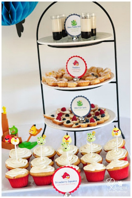 Angry Birds Party Desserts