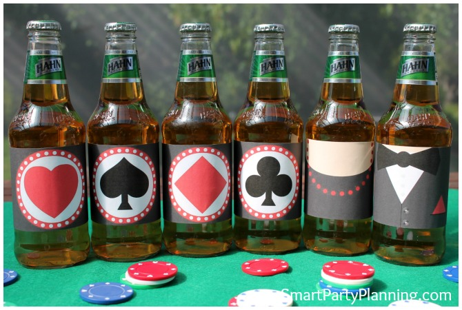 Casino printables for beer bottles