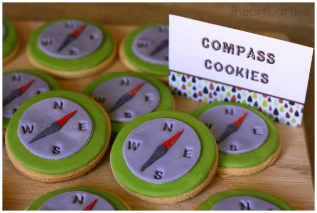 Compass Cookies