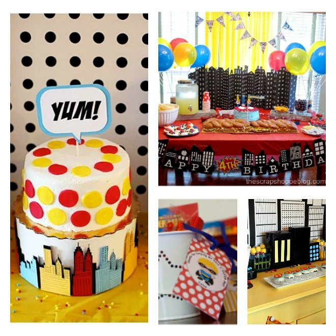 Easy Superhero Party Ideas