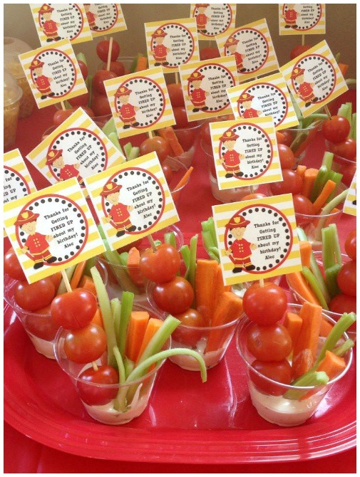 Fire truck party printables